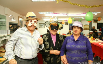 Purim to Holocaust survivors and the elderly