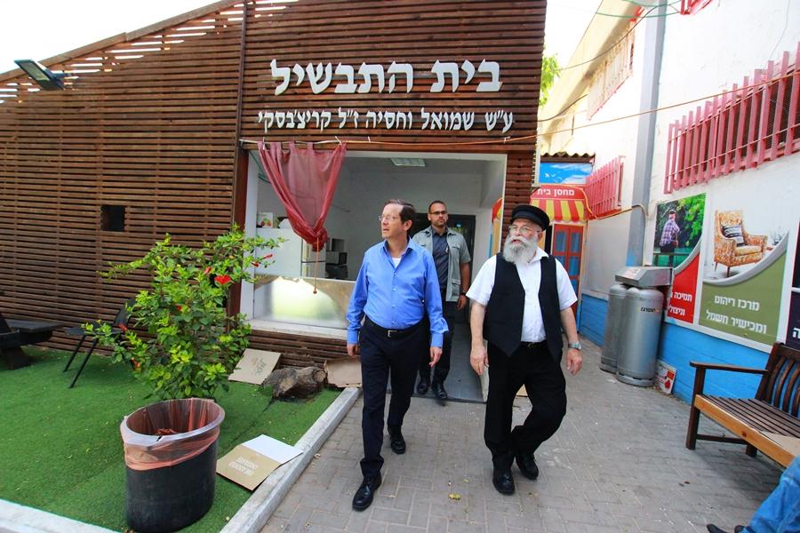 """יד ביד – יו""""ר הנהלת הסוכנות היהודית בביקור"""
